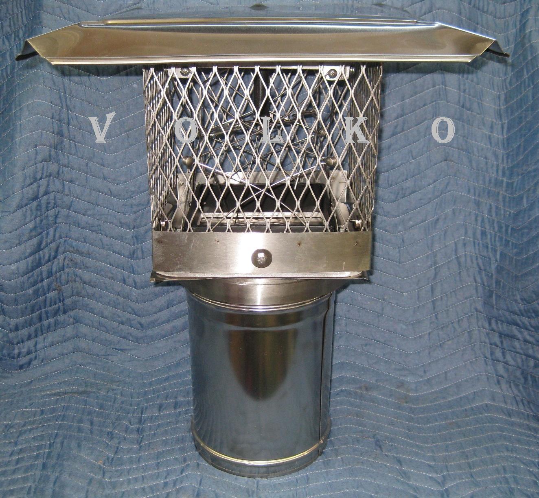 Volko Supply Chimney Caps Lyemance Dampers Damper Caps