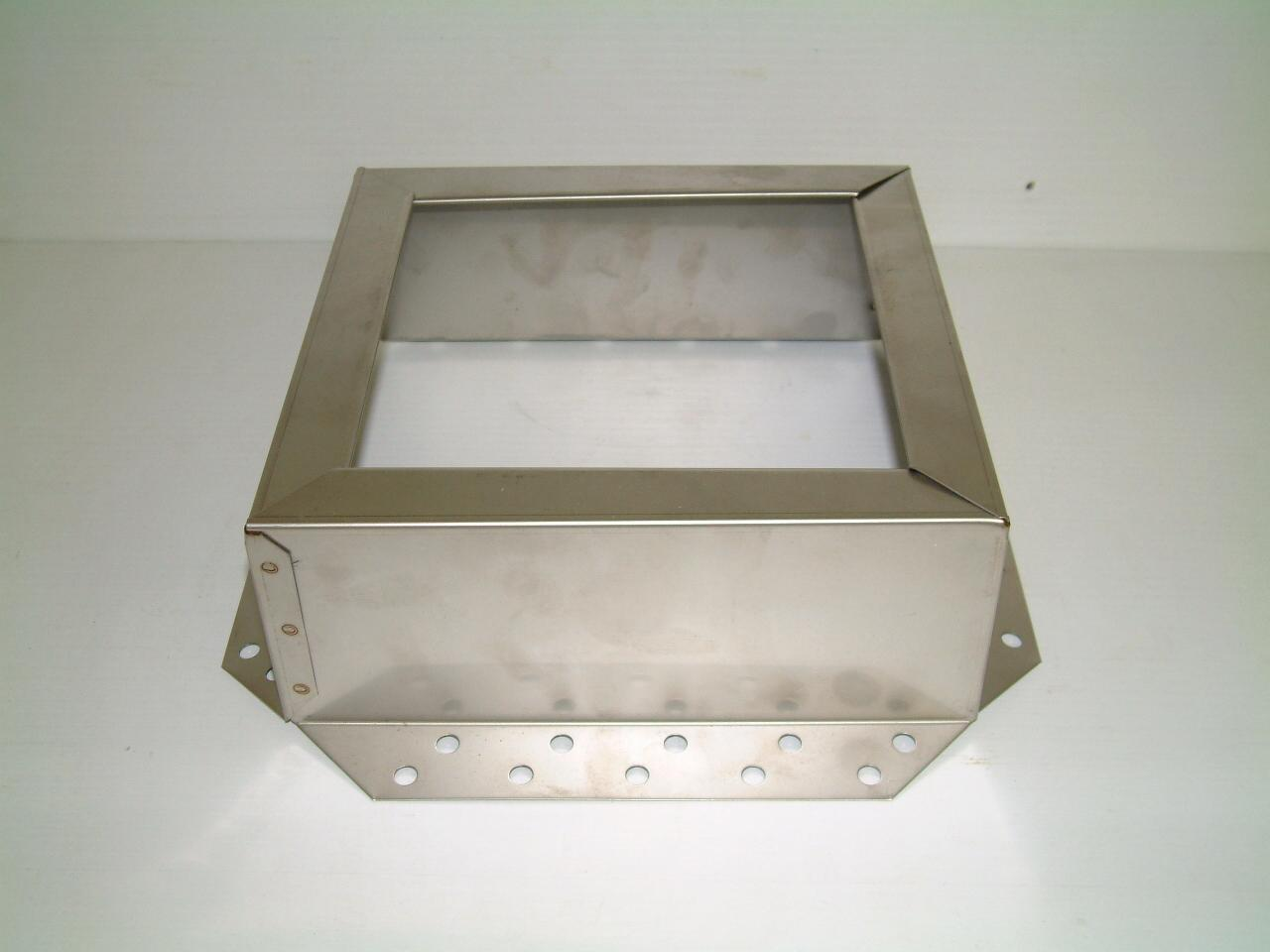 16x16 Chim A Lator Top Mount Stainless Steel Chimney