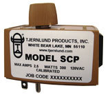 SCP Speed Control. Plug fan cord directly into speed control and speed control directly into outlet.